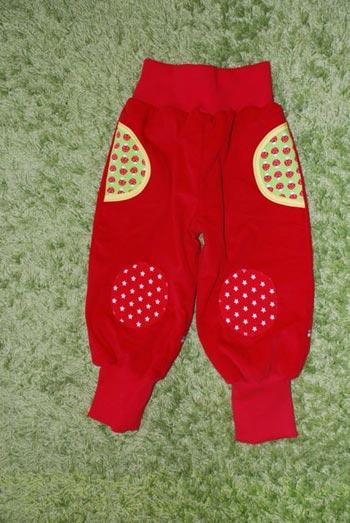 Rote-Cord-Pilzhose